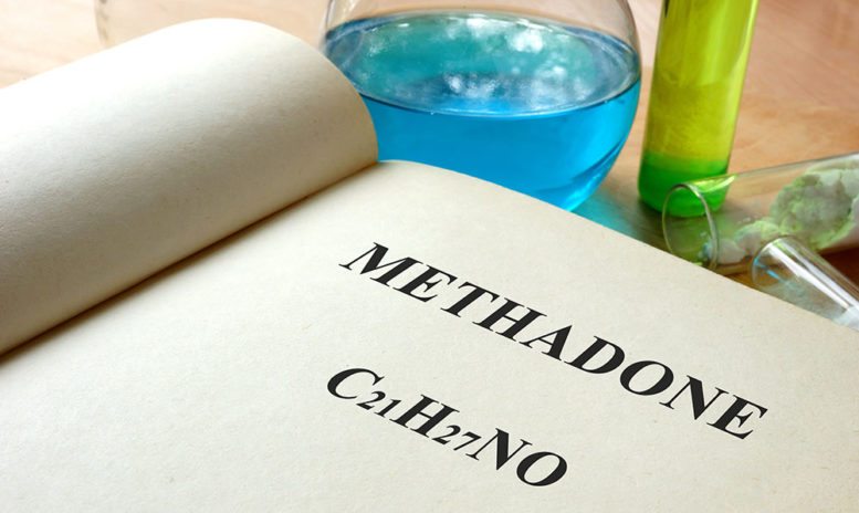 Methadone chemical composition