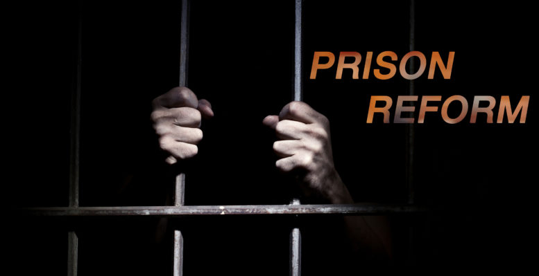 Man behind bars, prison reform
